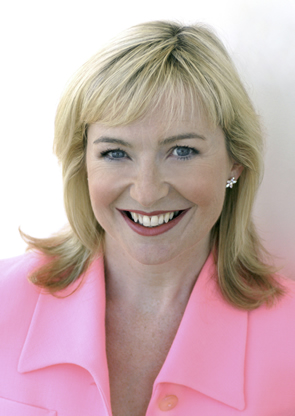 Alumna Carol Kirkwood welcomed us to the BBC in 2006. - 1984-Carol-Kirkwood