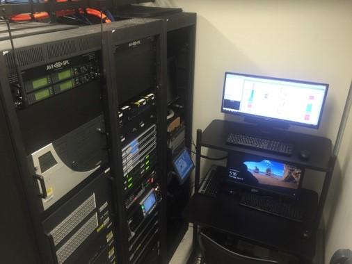 Server room `