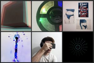 A range of projects from the Creative Computing module