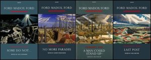 Front covers of the Carcanet critical edition of Parade's End.