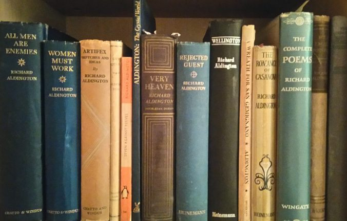 Books by Richard Aldington.