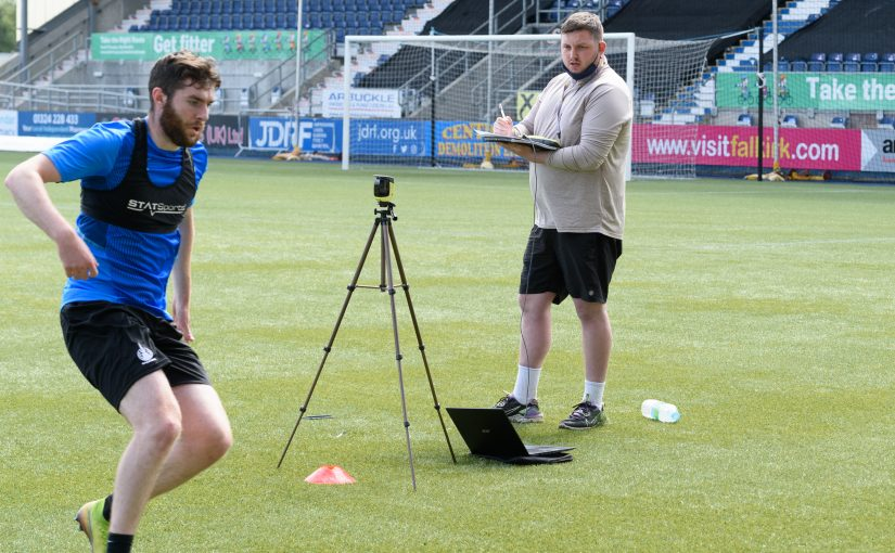 Pitch perfect. Falkirk's visit to Sport Exercise Science Labs