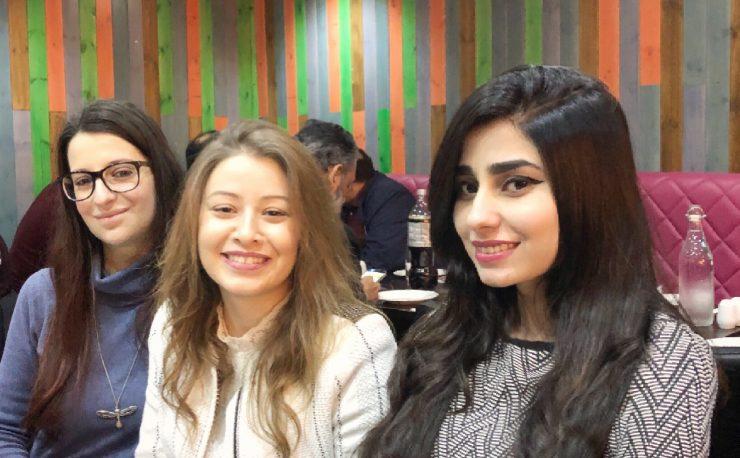 International student Beenish