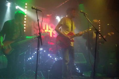 Local band playing gig