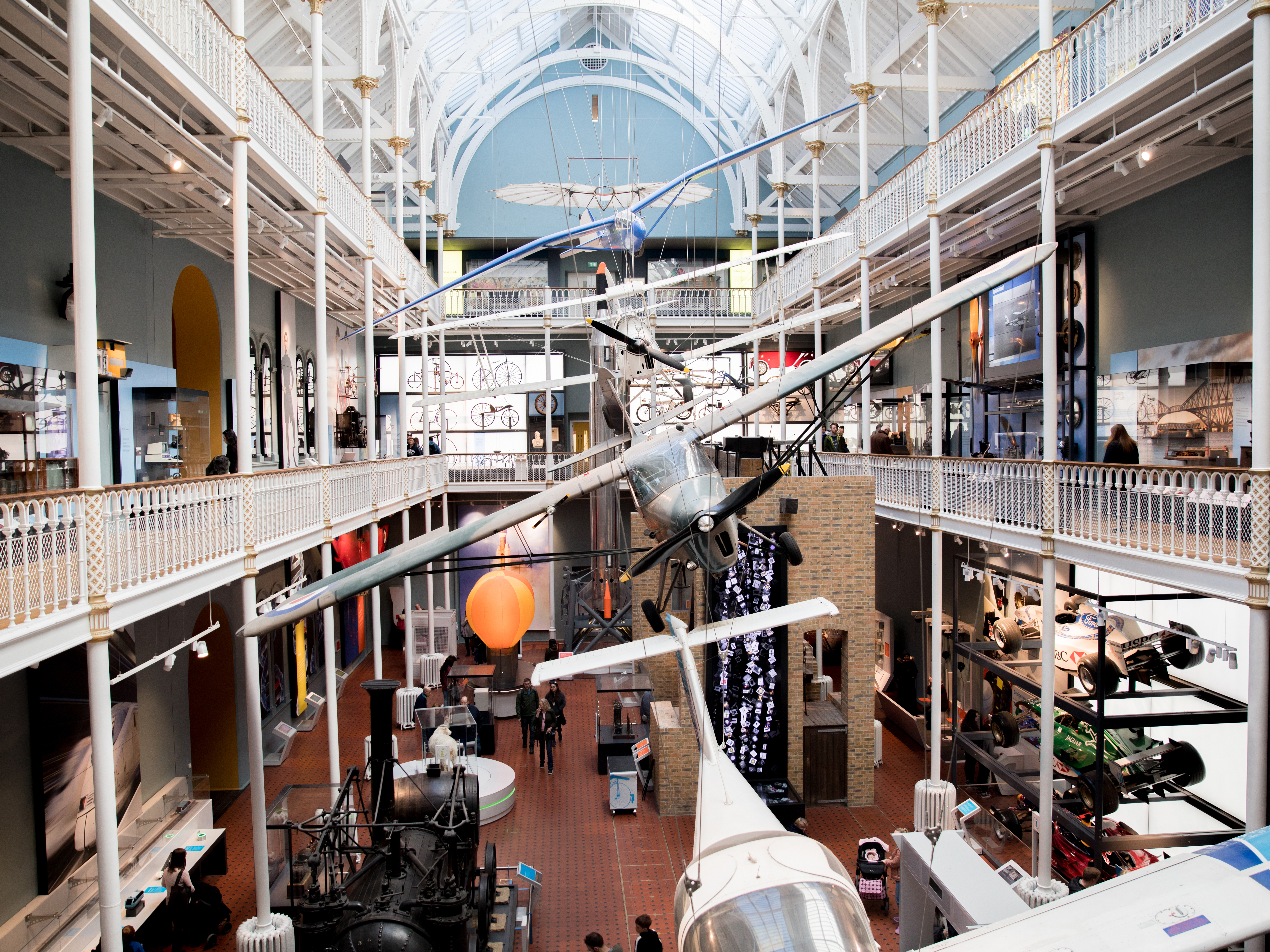 The science and technology gallery.