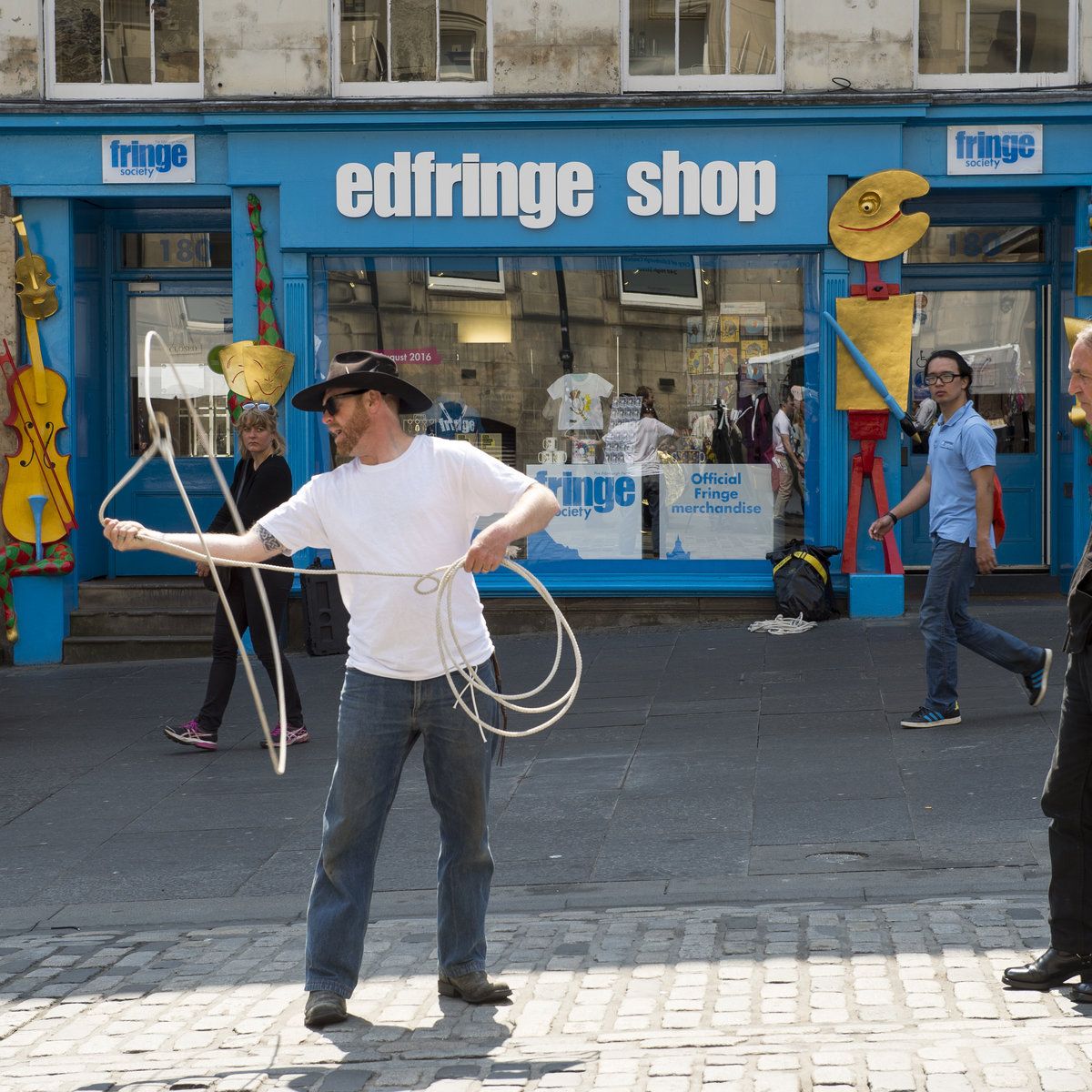 Edinburgh Tourist attractions - The High Strreet