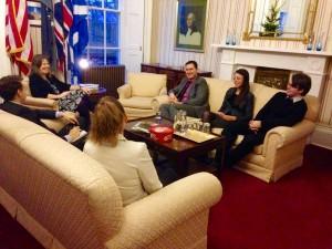 US Consulate meet