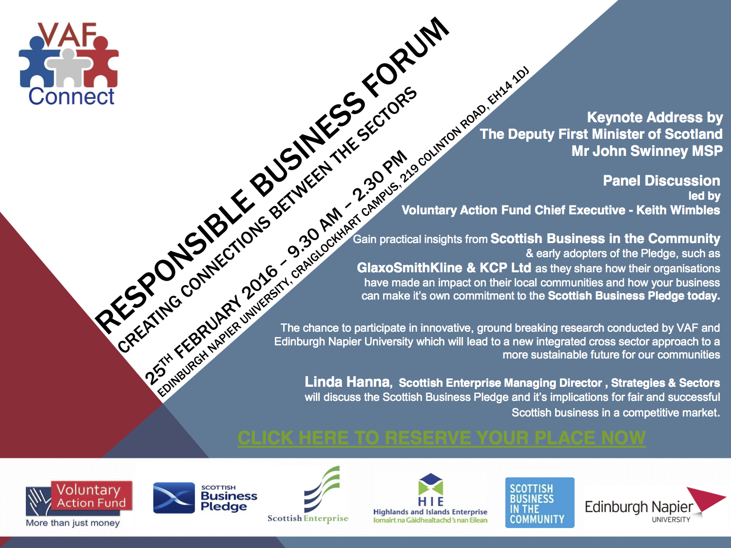 RESPONSIBLE BUSINESS FORUM Leaflet - 25 Feb 2016