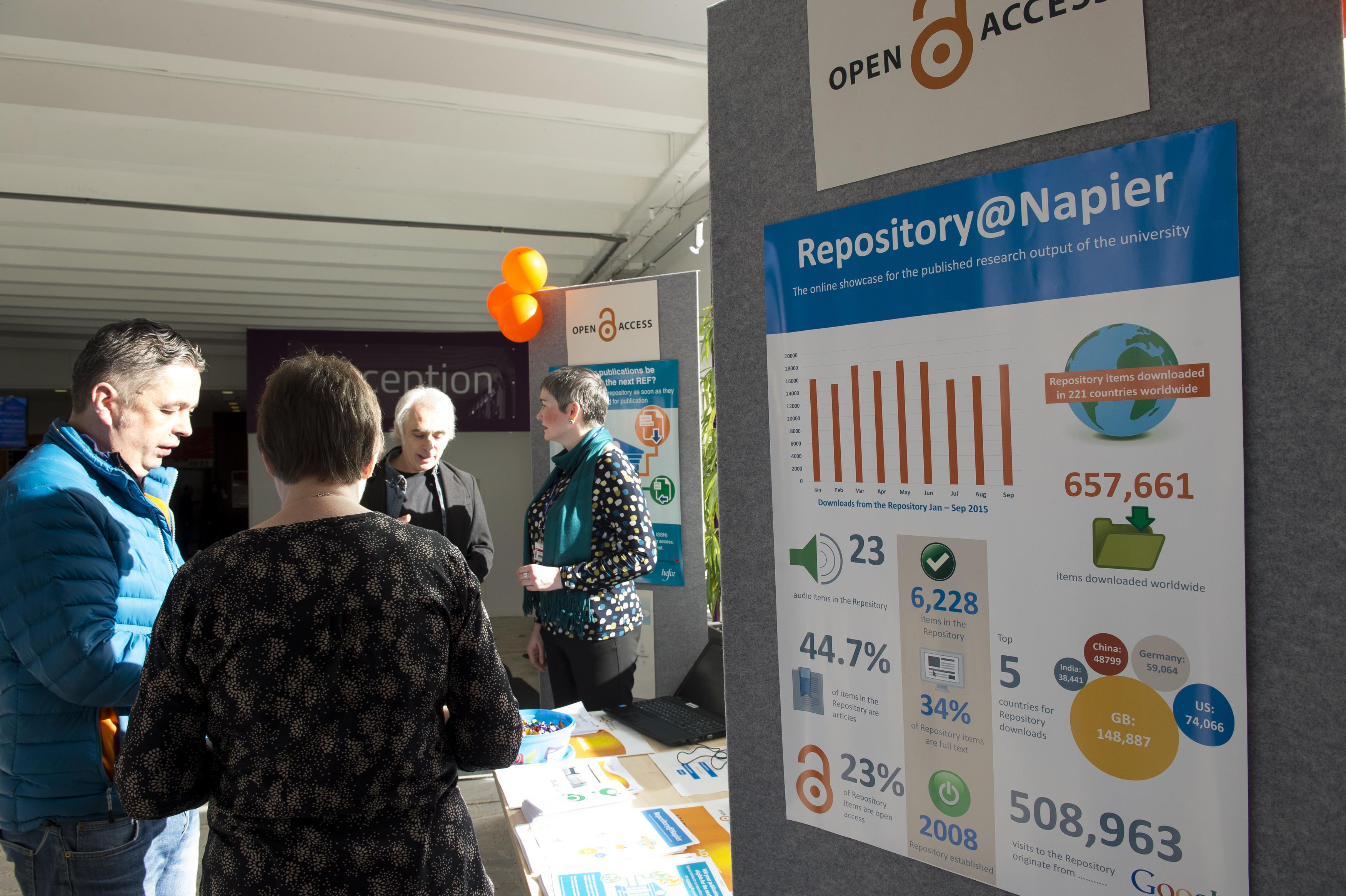 Open Access Week 2015 at Edinburgh Napier University