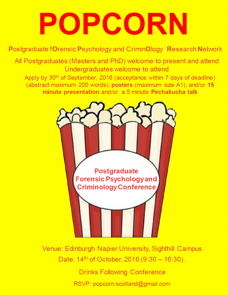 Free Forensic Psychology And Criminology Event Psynaps