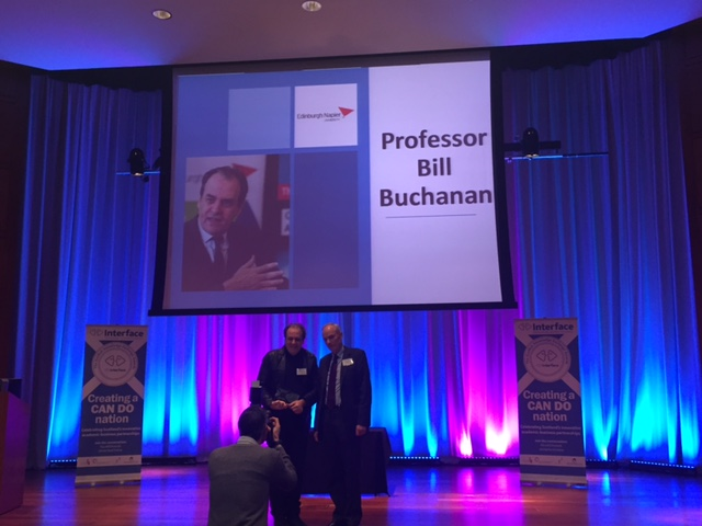 Bill Buchanan - Outstanding Contribution to Knowledge Exchange
