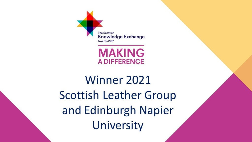 Graphic showing Napier Award for Making A Difference