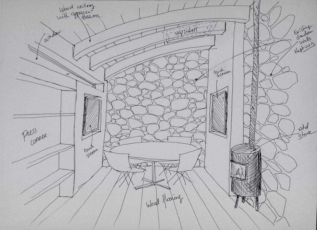 Digital Bothy Interior 1