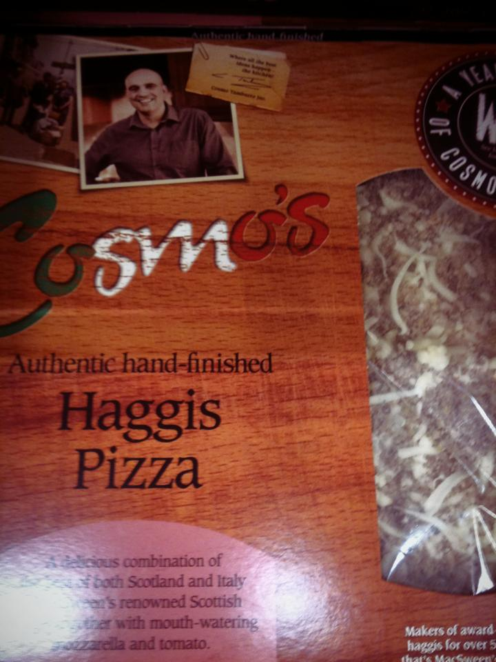 Dissertation Haggis Pizza