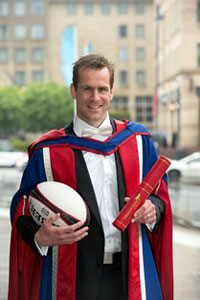 Chris Paterson is a Edinburgh Napier Honorary Graduate