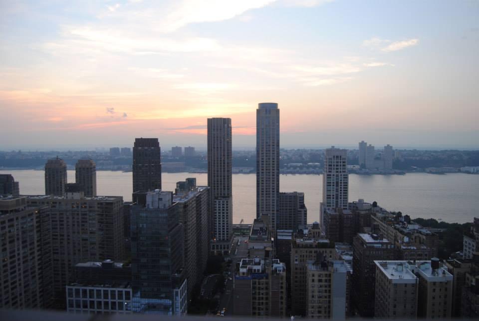 NYC view skyline