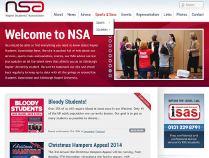 NSA Edinburgh Napier University