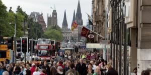 Edinburgh Shopping Students